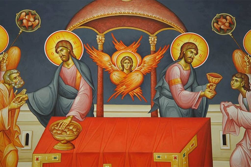 Icon: Communion of the Holy Apostles